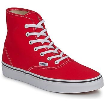 Παπούτσια Γυναίκα Ψηλά Sneakers Vans AUTHENTIC HI Red