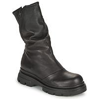 Παπούτσια Γυναίκα Μπότες για την πόλη Papucei LUZ Black