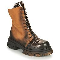 Παπούτσια Γυναίκα Μπότες Papucei NURIA Brown / Black