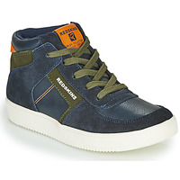 Παπούτσια Αγόρι Ψηλά Sneakers Redskins LAVAL KID Marine / Kaki