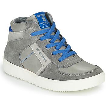 Παπούτσια Αγόρι Ψηλά Sneakers Redskins LAVAL KID Grey / Μπλέ
