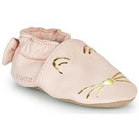 Παπούτσια Κορίτσι Παντόφλες Robeez GOLDY CAT Ροζ / Gold