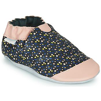 Παπούτσια Κορίτσι Παντόφλες Robeez RAINY LOVE Black / Ροζ