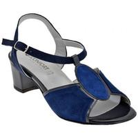 Παπούτσια Γυναίκα Σανδάλια / Πέδιλα Confort  Μπλέ