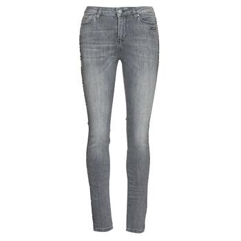 Υφασμάτινα Γυναίκα Skinny Τζιν  Karl Lagerfeld SKINNY DENIMS W/ CHAIN Grey