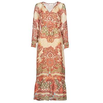 Υφασμάτινα Γυναίκα Μακριά Φορέματα Cream SANNIE DRESS Multicolore