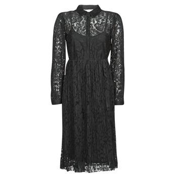 Υφασμάτινα Γυναίκα Κοντά Φορέματα Cream ALICIA DRESS Black