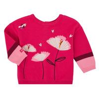 Υφασμάτινα Κορίτσι Μπουφάν / Ζακέτες Catimini CR18033-35 Ροζ