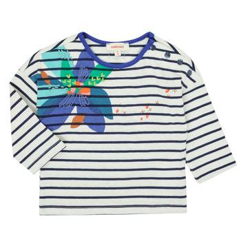 Υφασμάτινα Κορίτσι Μπλουζάκια με μακριά μανίκια Catimini CR10123-12 Multicolour