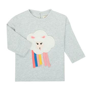 Υφασμάτινα Κορίτσι Μπλουζάκια με μακριά μανίκια Catimini CR10093-21 Grey