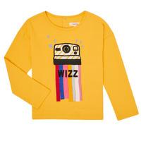 Υφασμάτινα Κορίτσι Μπλουζάκια με μακριά μανίκια Catimini CR10135-72-C Yellow