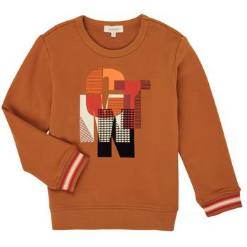 Υφασμάτινα Αγόρι Φούτερ Catimini CR15024-63-C Brown