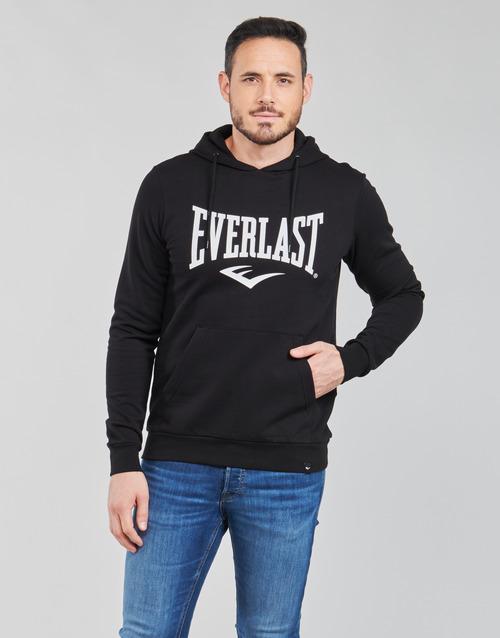 Υφασμάτινα Άνδρας Φούτερ Everlast BASIC-HOODED-TAYLOR Black