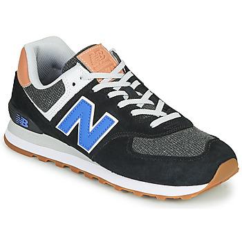 Παπούτσια Άνδρας Χαμηλά Sneakers New Balance 574 Black / Μπλέ
