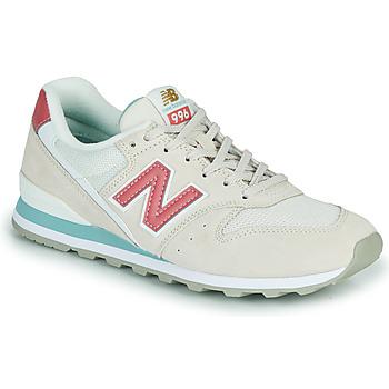 Παπούτσια Γυναίκα Χαμηλά Sneakers New Balance 996 Beige / Ροζ