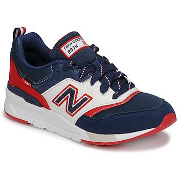 Παπούτσια Αγόρι Χαμηλά Sneakers New Balance 997 Μπλέ / Άσπρο / Red