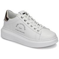 Παπούτσια Γυναίκα Χαμηλά Sneakers Karl Lagerfeld KAPRI MAISON KARL LACE Άσπρο