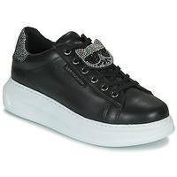 Παπούτσια Γυναίκα Χαμηλά Sneakers Karl Lagerfeld KAPRI IKONIC TWIN LO LACE Black