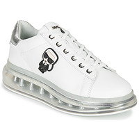 Παπούτσια Γυναίκα Χαμηλά Sneakers Karl Lagerfeld KAPRI KUSHION Karl Ikonic Lo Lace Άσπρο / Silver