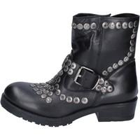 Παπούτσια Γυναίκα Μποτίνια Brawn's BM192 Μαύρος
