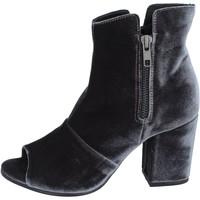Παπούτσια Γυναίκα Μποτίνια Lemaré stivaletti velluto Grigio