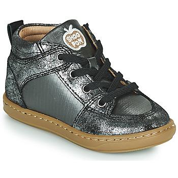 Παπούτσια Κορίτσι Ψηλά Sneakers Shoo Pom BOUBA GANG Silver