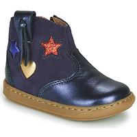 Παπούτσια Κορίτσι Ψηλά Sneakers Shoo Pom BOUBA WEST Μπλέ