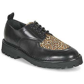 Παπούτσια Γυναίκα Derby Kenzo K MOUNT Black / Leopard