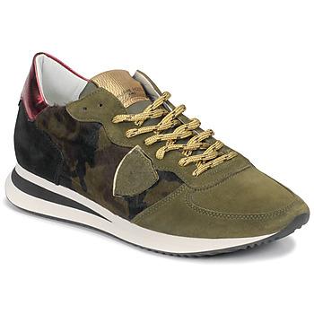Παπούτσια Γυναίκα Χαμηλά Sneakers Philippe Model TROPEZ Camouflage