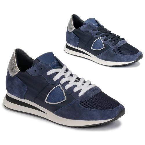 Παπούτσια Γυναίκα Χαμηλά Sneakers Philippe Model TROPEZ Marine
