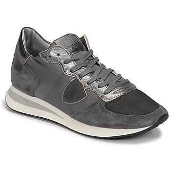Παπούτσια Γυναίκα Χαμηλά Sneakers Philippe Model TROPEZ Grey