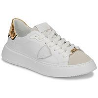 Παπούτσια Γυναίκα Χαμηλά Sneakers Philippe Model TEMPLE Άσπρο