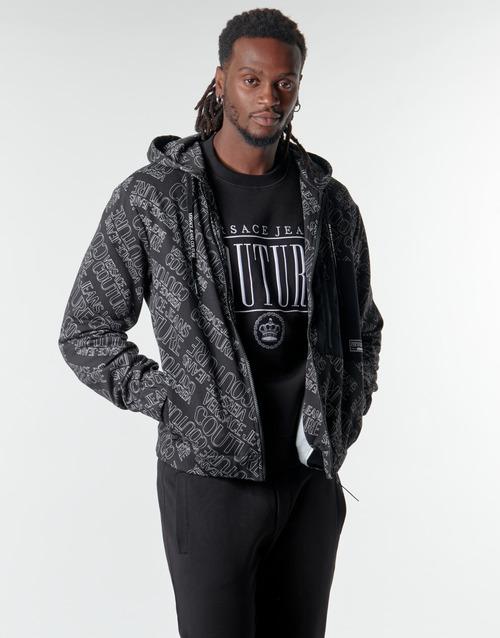 Υφασμάτινα Άνδρας Φούτερ Versace Jeans Couture B7GZB707 Black