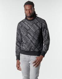 Υφασμάτινα Άνδρας Φούτερ Versace Jeans Couture B7GZB7F5 Black