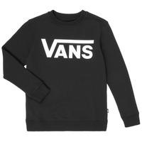 Υφασμάτινα Αγόρι Φούτερ Vans VANS CLASSIC CREW Black