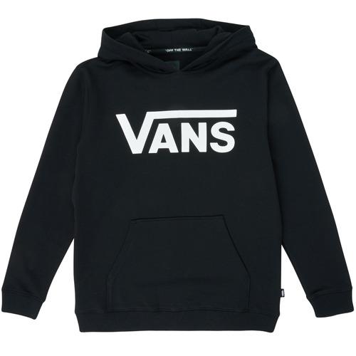 Υφασμάτινα Παιδί Φούτερ Vans VANS CLASSIC PO Black