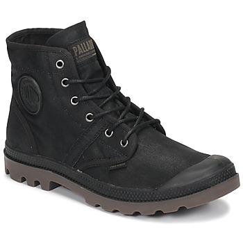 Παπούτσια Μπότες Palladium PALLABROUSE WAX Black