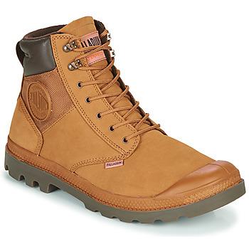 Παπούτσια Άνδρας Μπότες Palladium PAMPA SHIELD WP+ LUX Brown