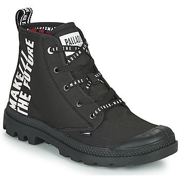 Παπούτσια Μπότες Palladium PAMPA HI FUTURE Black