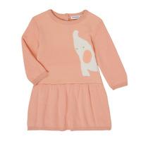 Υφασμάτινα Κορίτσι Κοντά Φορέματα Noukie's Z050082 Ροζ