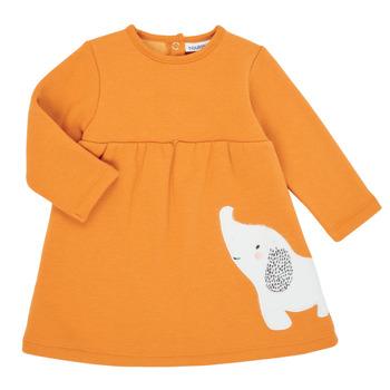 Υφασμάτινα Κορίτσι Κοντά Φορέματα Noukie's Z050083 Orange