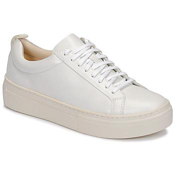 Παπούτσια Γυναίκα Χαμηλά Sneakers Vagabond ZOE PLATFORM Άσπρο