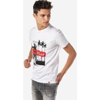Υφασμάτινα Άνδρας T-shirt με κοντά μανίκια Brokers ΑΝΔΡΙΚΟ T-SHIRT FAIRPLAY  ΛΕΥΚΟ Λευκό