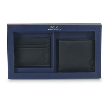 Τσάντες Άνδρας Πορτοφόλια Polo Ralph Lauren Billfold & CardCase Gift Set Black