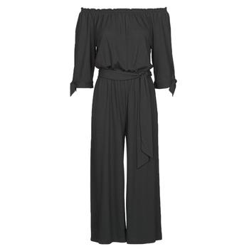 Υφασμάτινα Γυναίκα Ολόσωμες φόρμες / σαλοπέτες Lauren Ralph Lauren VANDRIN Black
