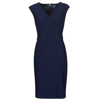 Υφασμάτινα Γυναίκα Κοντά Φορέματα Lauren Ralph Lauren JANNETTE Marine