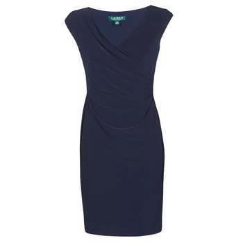 Υφασμάτινα Γυναίκα Κοντά Φορέματα Lauren Ralph Lauren BRANDIE Marine