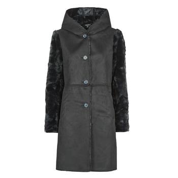 Υφασμάτινα Γυναίκα Παλτό Lauren Ralph Lauren COMBO FX SH-COAT Black
