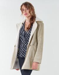 Υφασμάτινα Γυναίκα Παλτό Lauren Ralph Lauren RVRSBL FXSH-COAT Camel