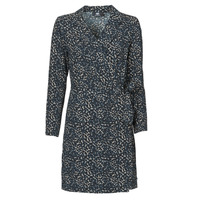 Υφασμάτινα Γυναίκα Κοντά Φορέματα Le Temps des Cerises LEANE Μπλέ